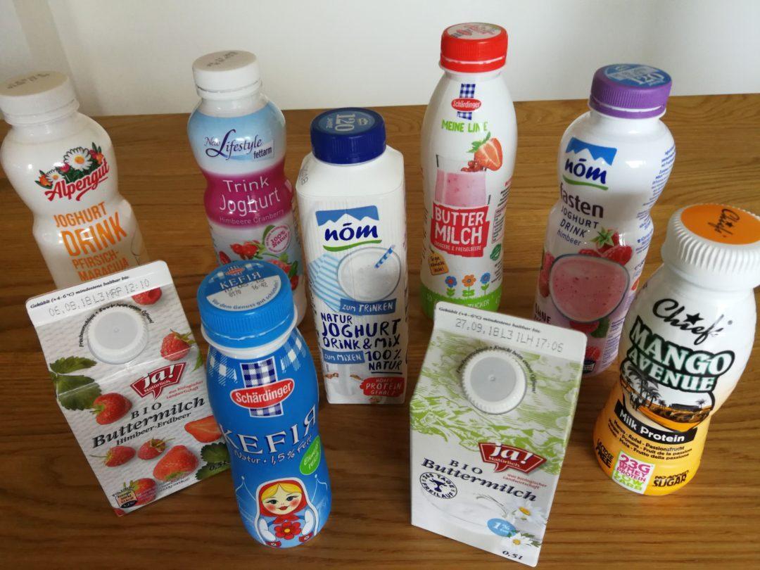 Fruchtbuttermilch