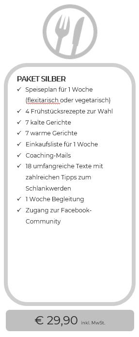 essenzielles_Schlank mit Intervall-Essen_Paket Silber